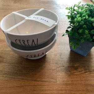 Rae Dunn CEREAL bowls